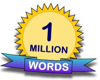 Over One Million Published Words