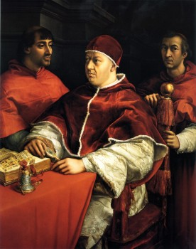 Pope Leo X - Authorising Usury for the first time on 4 April 1515 Image Source