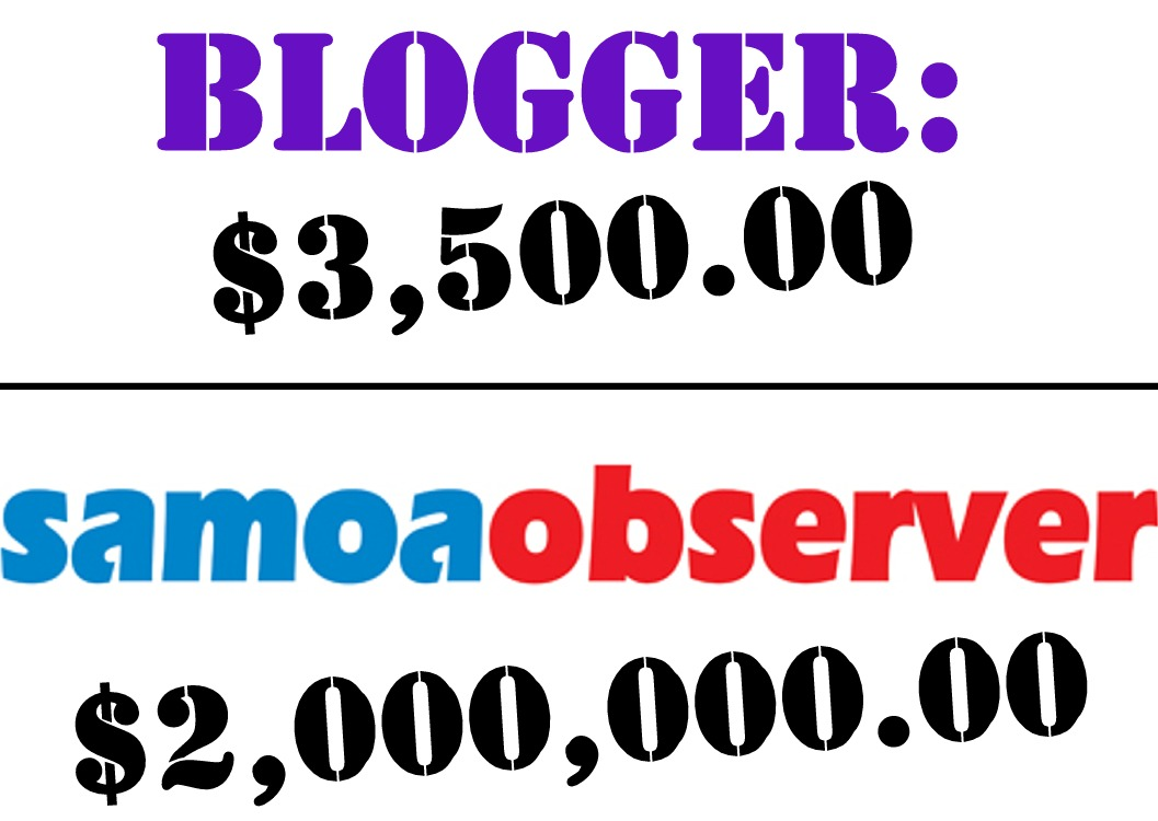 Samoa Observer Sues Blogger for $2m