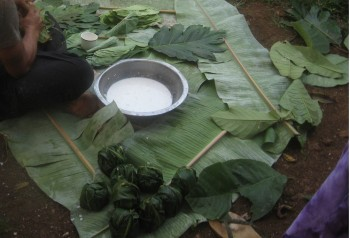 Making Palusami