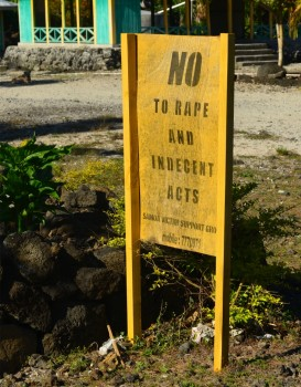 Say No to Rape and Indecent Acts - OMG!