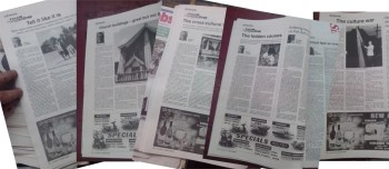 Samoa Observer claims in court documents that they published only three of my articles. Here's just a few snapped at teh library this afternoon - there's more too. Oops!