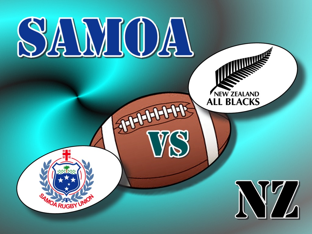 Samoa's Big Day vs All Blacks