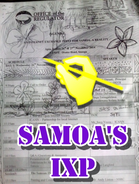 Samoa's Internet Exchange Point