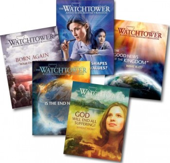 The Watchtower magazine - another source of noise, some good topics, a major JW bias of course
